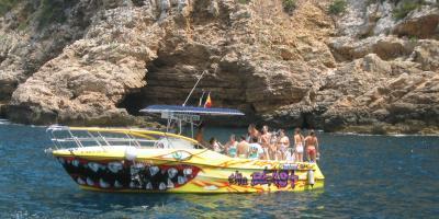 Mundomarino-Excursión en barco a la Reserva Marina del Cabo de San Antonio-Boat trip to the Cape of San Antonio Marine Reserve-Excursión en barco a la Reserva Marina del Cap de Sant Antoni