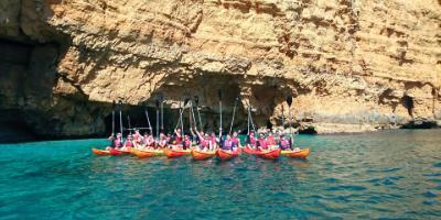 Siesta Advisor-Despedidas de solter@ únicas en kayak-Epic stag & hen kajaking party-Comiats de solter úniques en caiac