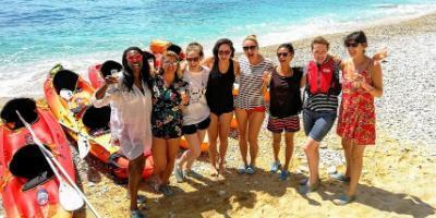 Siesta Advisor-Fiesta de cumpleaños en kayak-Birthday party and kayaking-Festa d'aniversari en caiac