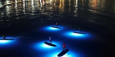 Siesta Advisor-Excursión nocturna en paddle surf-SUP sunset tour-Paddle surf tour nocturna