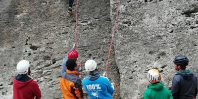 MULTIAVENTURA CHARM-Escalada frente al mar-Ocean front Climbing-Escalada esportiva