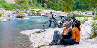 Mediterranean bike tours-Slow cycling, el Salto de la Novia en dos días y una noche-Slow Cycling, Salto de la Novia in two days and one night-Slow Cycling, el Salt de la Núvia en dos dies i una nit