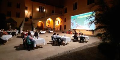 Palau Ducal dels Borja-Cena Borgiana a ritmo de jazz-Borgian dinner with jazz music-Sopar borgià a ritme de jazz
