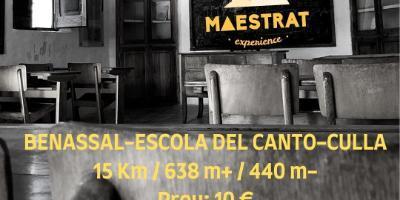 MAESTRAT EXPERIENCE-De Benassal a Culla por el Canto-From Benassal to Culla through Canto-De Benassal a Culla pel Canto