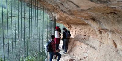ECOMUSEO DE BICORP-Visita guiada al Barranco Moreno-Guided visit to the Barranco Moreno-Visita guiada a l'Barranco Moreno