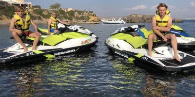 Jetdream Adventure-Isla de Tabarca en moto acuática-Jet ski trip to the Island of Tabarca-Illa de Tabarca amb moto aquàtica