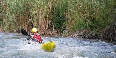 Sargantana Aventura-Kayak aguas bravas-Whitewater kayaking-Caiac aigües braves