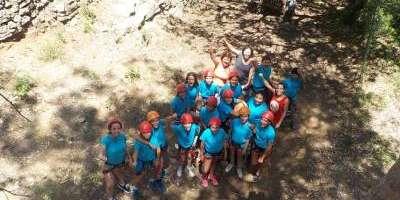 Sargantana Aventura-Multiaventura colegios-Multi-adventure for schools-Multiaventura col·legis