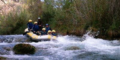 Ruting.es-Rafting + multiaventura río Cabriel-Rafting + multi-adventure Cabriel river-Ràfting + multiaventura riu Cabriol