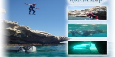 Tronkos y Barrancos-Coast jumping en Villajoyosa-Coast jumping in Villajoyosa-Coast jumping a la Vila Joiosa