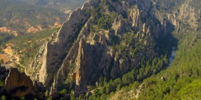 Geosenda-Los Cuchillos del Cabriel. Un límite geológico-The