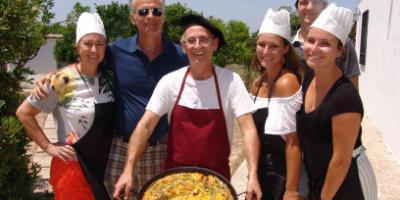 Rafael Codoñer Barberá-Clase de cocina de la auténtica paella valenciana-Cooking class of the authentic Valencian paella-Classe de cuina de l'autèntica paella valenciana