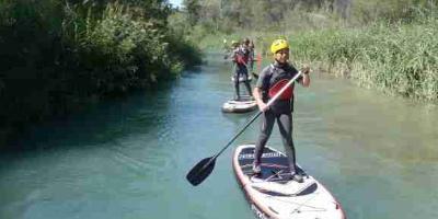 kalahari aventuras s.l.-Paddle surf en ríos - river SUP-Whitewater paddle surf - river SUP-Paddle surf en rius - river SUP