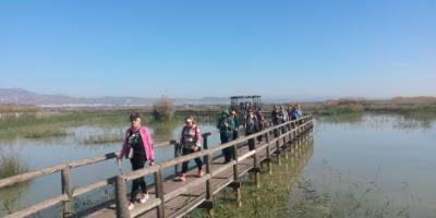 Costa Blanca Nordic Walking-Ruta de marcha nórdica y birdwatching-Nordic walking route and birdwatching-Ruta de marxa nòrdica i birdwatching