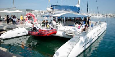 Alicante Catamaran-Boat party en Alicante-Boat party in Alicante-Boat party a Alacant
