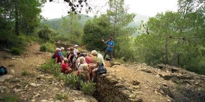 SPAINISH-Trincheras de la Guerra Civil - visita guiada por Sierra Espadán-Trenches of the Spanish Civil War - Guided hiking tour-Trinxeres de la Guerra Civil - visita guiada per Sierra Espadà