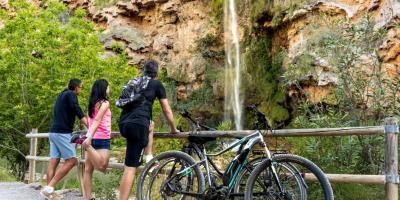 Mediterranean bike tours-Slow Cycling. El Salto de la Novia en dos días y una noche-Slow Cycling. Salto de la Novia in 2 days and 1 night-Slow Cycling. El Salt de la Núvia en dos dies i una nit