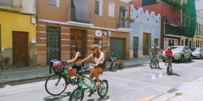 Paseando por los poblados de la mar-Pedaleando el Cabanyal-El Cabanyal bike tour-Pedalejant el Cabanyal