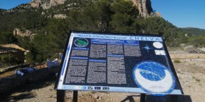 AstrExperiencia-Ruta astronómica de Chelva-Astronomical Route of Chelva-Ruta Astronòmica de Xelva