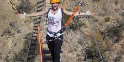 Tronkos y Barrancos-Ascendiendo a las nubes - Vías ferratas-Climbing to the clouds (