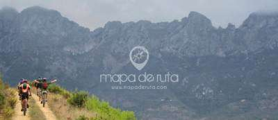 The mountains of the Costa Blanca