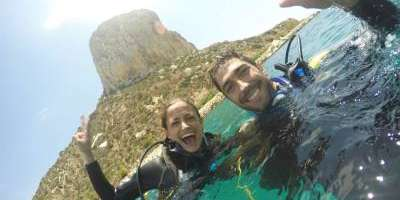 Scuba diving for beginners in Calpe