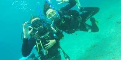 Dive & Dive-Bautismo de buceo en Calpe-Scuba diving for beginners in Calpe-Baptisme de busseig a Calp