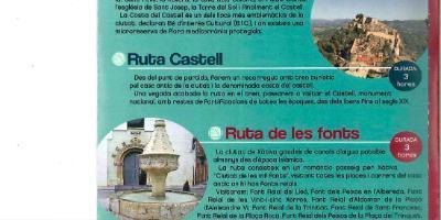 Rutas temáticas en Xàtiva