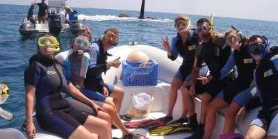 Snorkel en Cullera desde barco