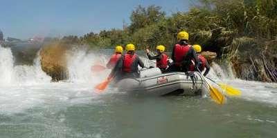 Ràfting pel riu Millars