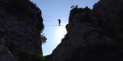 Multi-adventure via ferrata