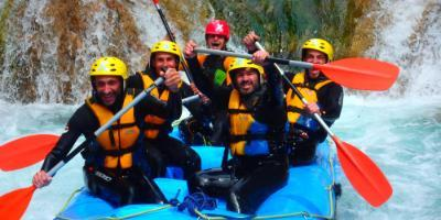 Rafting in Montanejos