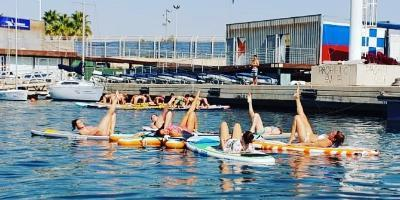 Paddle surf and windsurf right in the center of Valencia
