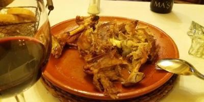 Restaurante La Teja Azul-Jornadas gastronómicas del lechazo-VII GASTRONOMIC DAYS OF THE LECHAZO-Jornades gastronòmiques del corder de llet