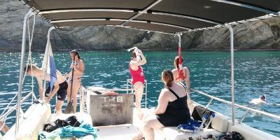 Excursió de snorkel en trimarà