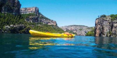 Canoes through the Canyons of Júcar