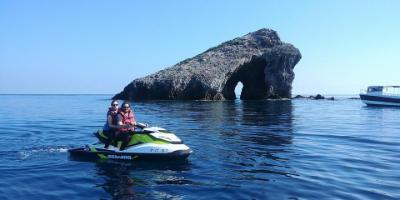 Jet ski trip to the Island of Tabarca and La Manga