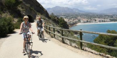 Marina Baixa bike tour