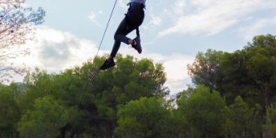 Parc d'aventures i tirolina Forestal Park