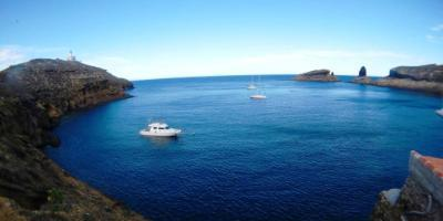 Scuba diving in volcanic islands: the Columbretes