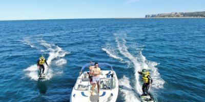 JetSurf: surf a motor, adrenalina 100%