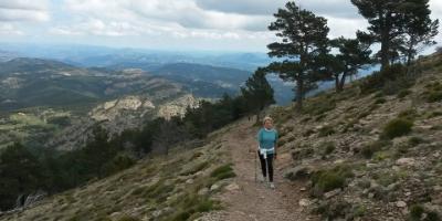 Nordic Walking in Penyagolosa